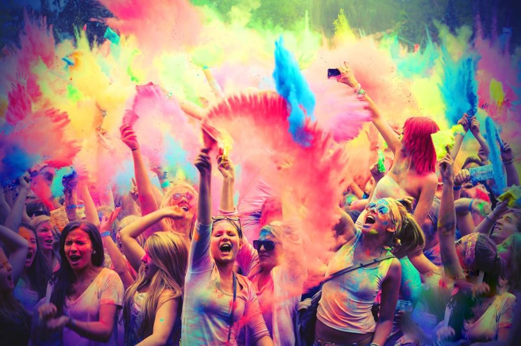 Эффективное тиражирование мероприятия на 97 городов России и СНГ на примере «Фестиваля красок Холи»